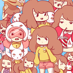 Bee and puppycat by RinRinDaishi