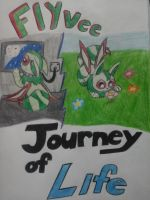 Flyvee Journey of Life cover #1 by NinjaTurtleGirl