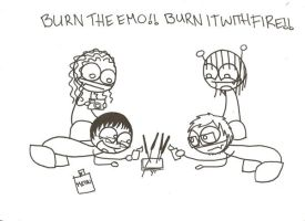 Burn the Emo by FreakyPeep