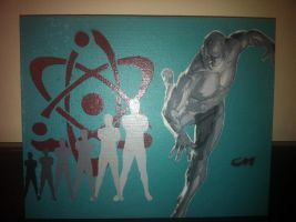 The Atom Ray Palmer by Stencils-by-Chase