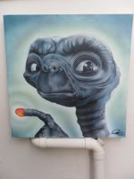 E.T Airbrushed by Mathius88
