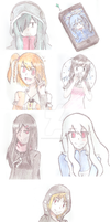 KagePro colored doodle dump thing by R-O-K-U-S-H-I