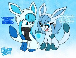 Glaceon Bloomizzard by Sweatshirtmaster