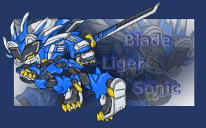 Sonic Blade Liger Armor by RX-BlackHowling