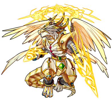 My Next OC's Design (From Monster Strike) by Nightly-Howler