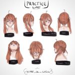 Practicing different angles. by slartswe