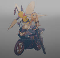 Beedrill x Motorcycle