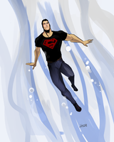 Superboy by Ferroconcrete247