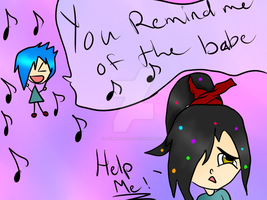You Remind Me Of The Babe by AnimeGurl1012