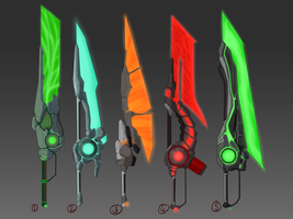 Sci-Fi Weapon Adopts (closed) by Nano-Core
