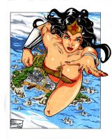 Wonder Woman 2008 by ericborc
