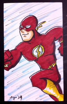 Commission: Speedster by bluecanarykit