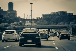 Traffic in Toronto by gabolos