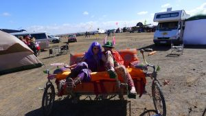 pedal couch for Afrika burns (at the festival ) by shanti1971