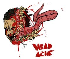 HEAD ACHE by blurukus