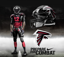 Atlanta Falcons Alt Home Uni by DrunkenMoonkey