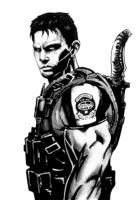 chris redfield by campionistudio