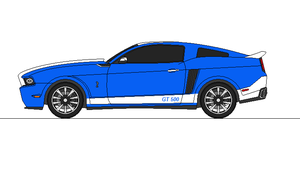 2014 Mustang Shelby GT 500 by airsoftfarmer