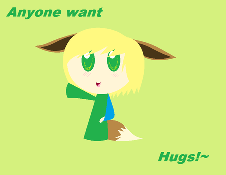 Hugs anyone by Ask-TheGreenLink