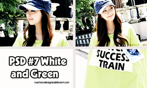 PSD #7 : White And Green by ruachocodesigner