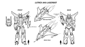 Lutrex aka Laserbot Redesign by Laserbot