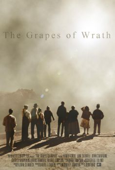 The Grapes of Wrath Poster by Ficklestix