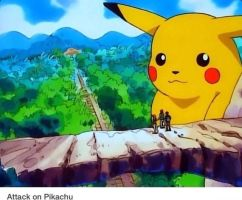 Attack on Pikachu by The--Mad--Russian