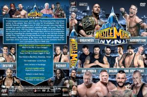 WWE WrestleMania 29 DVD Cover V1 by Chirantha