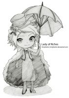Class G - 16th - Lady of Riches by Kiriphorito