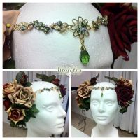Art Nouveau Headdress by Lillyxandra