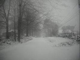 Winter on Rich rd. by luethlover