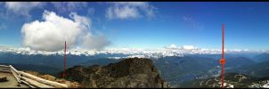 On Top of Whistler by 154600Lire