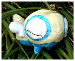 Patchwork Dunsparce by Patchwork-Shark