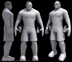 Tim Sweeney - Base Mesh by GaryStorkamp