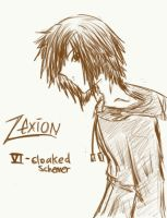 Zexion - Bleh by Ice-Chrome