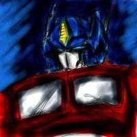 Optimus Prime by KBladez