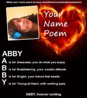 My Name Poem by twilightclaws242