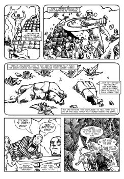 GaL #7 - The Giants of Mont'E Prama (2) - p3 by martin-mystere
