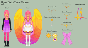 SM - Ayami Reference Sheet by porcelian-doll