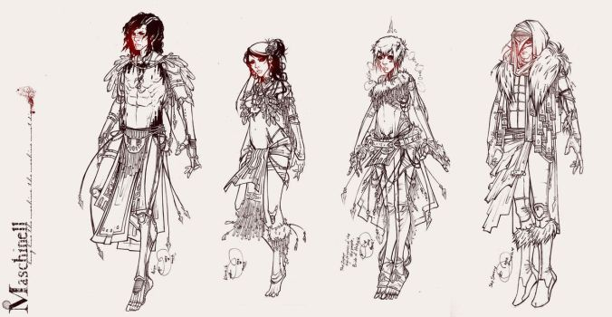 Maschinell Costuming pt.2: The Sky People by retromortis
