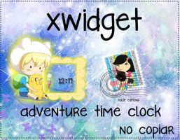 adventure time clock by hollie-editions