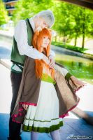 Mine, Spice and Wolf Cosplay by firecloak