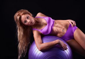Purple Fitball by Lightkast