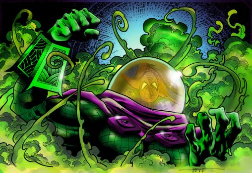 MYSTERIO colors by CThompsonArt