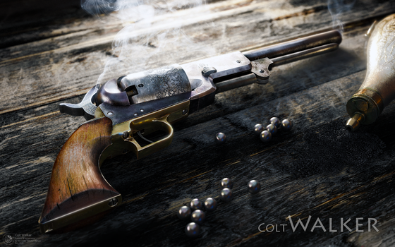Colt Walker by ABiator