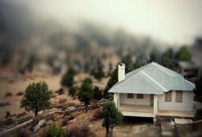 Village Tilt-Shift 2 by cheyrek