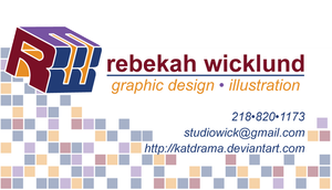 Personal Business Card by RebekahByland