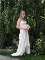 Kristle on her wedding day by rusty14