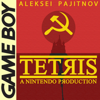 Minimal Game Posters - Tetris by Waddle-Moogle