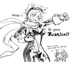 nisa for great justice by Ge-B